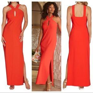 Boston Proper BEYOND TRAVEL™ KEYHOLE MAXI dress